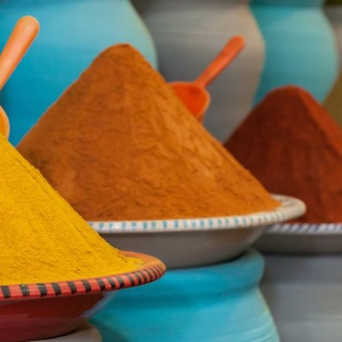Rasori Expeditions - Spice Market in Morocco