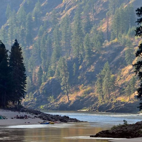 Rasori Expeditions - Deluxe, Safari Style River Trip on the Salmon River