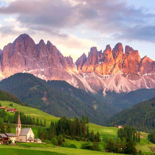 Hiking the Dolomites - The Dolomites